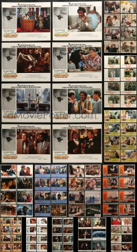 2y078 LOT OF 142 LOBBY CARDS 1960s-1990s complete sets from a variety of different movies!