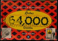 2z226 $64,000 QUESTION board game 1955 includes automatic question selector!