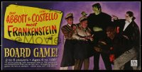 2z228 ABBOTT & COSTELLO MEET FRANKENSTEIN board game 2005 Bud & Lou with Dracula & Wolfman!