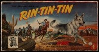 2z229 ADVENTURES OF RIN TIN TIN board game 1955 James Brown & Flame Jr. in the title role!