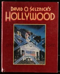 2z136 DAVID O. SELZNICK'S HOLLYWOOD hardcover book 1985 filled with wonderful images!