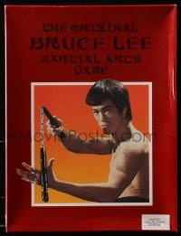 2z233 BRUCE LEE 9x12 board game 1985 limited collectors edition, the original martial arts game!