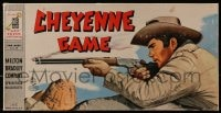 2z235 CHEYENNE board game 1958 great cover art of Clint Walker aiming his rifle!
