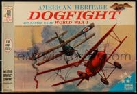 2z231 AMERICAN HERITAGE board game 1962 Dogfight Air Battle Game World War I!