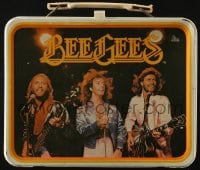 2z144 BEE GEES metal lunchbox 1978 great images of the musical trio on stage and more!