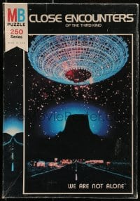 2z204 CLOSE ENCOUNTERS OF THE THIRD KIND jigsaw puzzle 1977 Spielberg classic, vertical design!