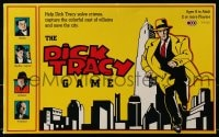 2z237 DICK TRACY board game 1990 help him solve crimes, capture the colorful cast of villains!