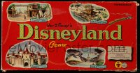 2z240 DISNEYLAND board game 1959 great images of attractions at the theme park in California!