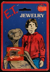 2z162 E.T. THE EXTRA TERRESTRIAL enamel pin 1983 great collectible, you can wear it too!