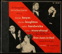 2z132 DON JUAN IN HELL record box set 1952 Charles Boyer, Charles Laughton, Cedric Hardwicke