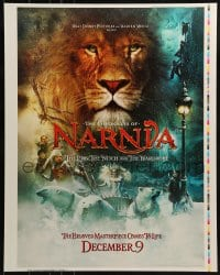 2z026 CHRONICLES OF NARNIA printer's test 23x29 special poster 2005 C.S. Lewis, Henley & Swinton!