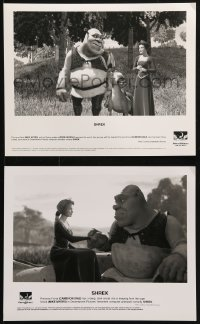 3a885 SHREK 2 8x10 stills 2001 Dreamworks CGI, cool images of him with Princess Fiona!