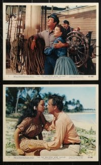 3a005 ALL THE BROTHERS WERE VALIANT 11 color 8x10 stills 1953 Taylor, Stewart Granger, Ann Blyth!