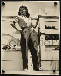 3a830 ROSEMARY LA PLANCHE 3 7.75x9.75 stills 1940s the sexy former Miss America, Noah Beery!