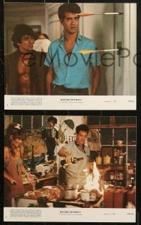 3a012 BACHELOR PARTY 8 8x10 mini LCs 1984 cool images of Tom Hanks & sexy Tawny Kitaen!