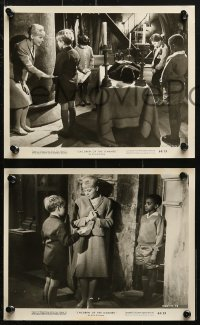 3a265 CHILDREN OF THE DAMNED 12 8x10 stills 1964 beware the creepy kid's eyes that paralyze, great images!