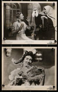 3a513 CINDERELLA 7 8x10 stills 1961 Russian Bolshoi Ballet version of the classic fairy tale!