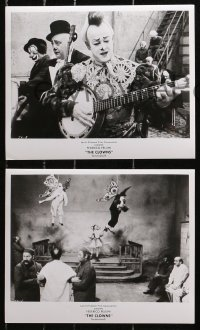 3a653 CLOWNS 5 8x10 stills 1971 Federico Fellini, great images of circus clowns performing!