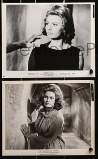 3a444 CONDEMNED OF ALTONA 8 8x10 stills 1963 all with great images with sexiest Sophia Loren!