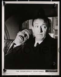 3a334 COUNTERFEIT CONSTABLE 10 8x10 stills 1966 Robert Dhery, French comedy, different images!
