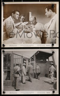 3a378 CREATURE WALKS AMONG US 9 8x10 stills 1956 Jeff Morrow, Reason, Snowden, several with monster!