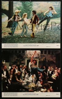 3a022 HAIR 8 8x10 mini LCs 1979 Milos Forman directed musical, top cast images!
