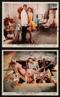 3a050 HOLLYWOOD OR BUST 5 color 8x10 stills 1956 Dean Martin & Jerry Lewis, sexiest Pat Crowley!