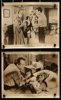 3a223 LIFE BEGINS AT 17 14 8x10 stills 1958 Mark Damon, Dorothy Johnson & Luana Anders!