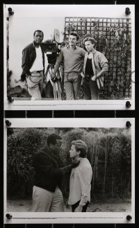 3a201 LITTLE NIKITA 15 8x10 stills 1988 Sidney Poitier & River Phoenix in Cold War thriller!