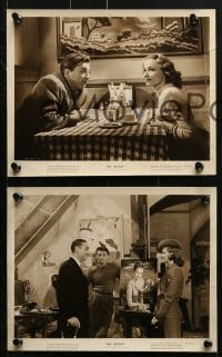 3a394 LOCKET 9 8x10 stills 1946 Robert Mitchum film noir, pretty Laraine Day and Ricardo Cortez!