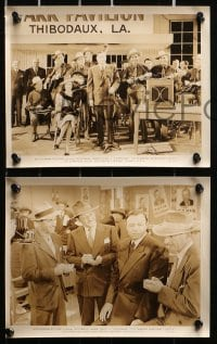 3a271 LOUISIANA 12 8x10 stills 1947 real life Governor Jimmie Davis as himself & pretty Margaret Lindsay!