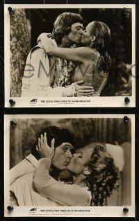 3a114 LOVES & TIMES OF SCARAMOUCHE 25 8x10 stills 1976 Michael Sarrazin & sexy Ursula Andress!