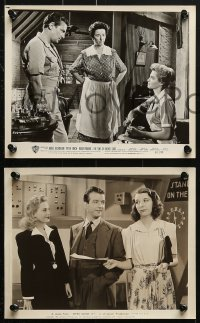 3a679 MARY WICKES 5 8x10 stills 1940s-1960s with Abbott and Costello, Finch, Dickinson, Wyman!