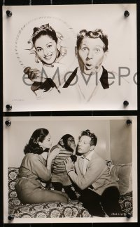 3a315 MERRY ANDREW 11 8x10 stills 1958 great images of Danny Kaye & Pier Angeli!