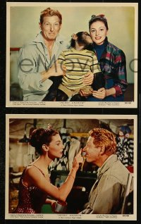 3a060 MERRY ANDREW 4 color 8x10 stills 1958 great images of Danny Kaye & Pier Angeli!