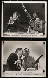 3a680 MIKE DOUGLAS SHOW 5 TV 8x10 stills 1979 w/ Reynolds, Vereen, Mathis, Little and more!
