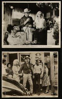 3a822 MISFITS 3 from 7.25x9.5 to 8x10 stills 1961 Marilyn Monroe, Clark Gable & Montgomery Clift!
