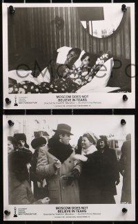 3a475 MOSCOW DOES NOT BELIEVE IN TEARS 8 8x10 stills 1981 Moskva Slezam ne Verit, Russian romance