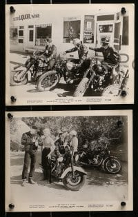 3a547 MOTORCYCLE GANG 7 8x10 stills 1957 AIP, pretty Anne Neyland, living with no tomorrow!