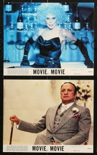 3a025 MOVIE MOVIE 8 8x10 mini LCs 1978 George C. Scott, Stanley Donen, parody of 1930s movies!
