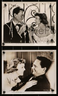 3a684 NO SAD SONGS FOR ME 5 from 8.25x10 to 8x10.25 stills 1950 Sullavan, Wood, Wendell Corey!
