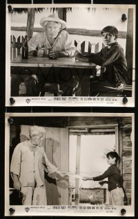 3a094 OLD MAN & THE SEA 31 8x10 stills 1958 Spencer Tracy, Ernest Hemingway, directed by Sturges!