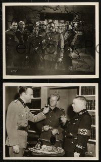 3a607 OPERATION EICHMANN 6 8x10 stills 1961 WWII, the man hunt of the century for the Nazi butcher!