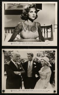 3a401 PARRISH 9 from 8x9.75 to 8.25x10.25 stills 1961 Sharon Hugueny, Troy Donahue & director Delmer Daves!