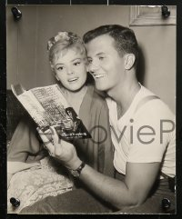 3a611 PAT BOONE 6 8x10 stills 1950s wonderful portrait images of the star!