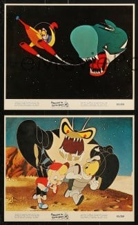 3a006 PINOCCHIO IN OUTER SPACE 11 color 8x10 stills 1965 sci-fi cartoon images, new worlds of wonder