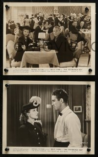 3a403 PITTSBURGH KID 9 8x10 stills 1941 boxer Billy Conn, pretty Jean Parker, Dick Purcell!