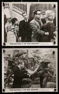3a188 PLAYGIRL & THE WAR MINISTER 16 8x10 stills 1962 Greenwood, Carmichael, red faces in high places