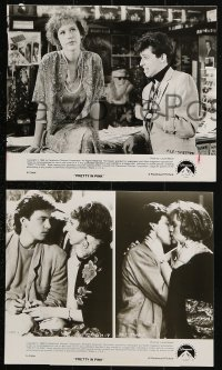 3a826 PRETTY IN PINK 3 8x10 stills 1986 great images of Molly Ringwald, Andrew McCarthy & Jon Cryer!
