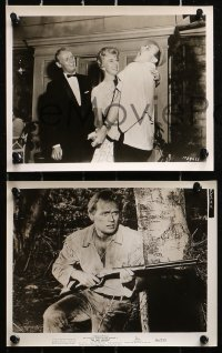 3a207 RICHARD WIDMARK 15 8x10 stills 1950s great images of the star from a variety of roles!